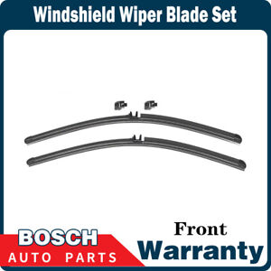 Bosch 1 Pc Front Windshield Wiper Blade Set For 2004 A4 from 11 2003 set