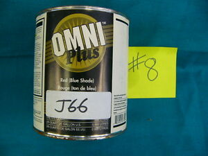Ppg Paint Tint Omni Plus M582 Shop Line J66 Quindo Red Mixing Base 1qt 8