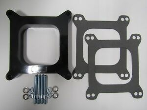 1 Open Phenolic Carburetor Spacer Fits Holley Chevy Ford 4bbl Sbc Bbc Sbf Carb