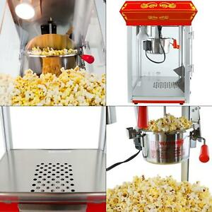 Carnival Style 4 Oz Red Countertop Popcorn Machine Funtime Maker Ft421cr 4oz