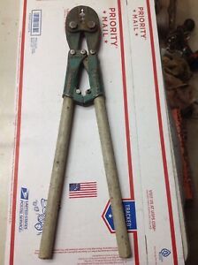 Burndy Hytool Md5 31 Compression Crimper Tool 5397