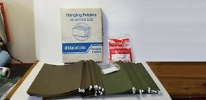 Hanging File Folders Letter Size Lot Of 49
