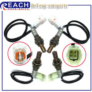 4pcs Upstream Downstream Oxygen Sensor For 2002 06 Suzuki Xl 72001 Grand Vitara