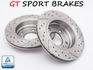 Gt Brake Rotors Front Gt0280 Vw Scirocco R Tsi 2008 2009 2010 2011 2012 2013 34