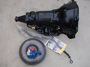 C6 High Perf Street Transmission With Torque Converter Fits 352 360 390 410 428