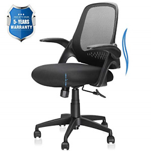 Office Chair Computer Desk Chair With Ergonomic Back Support And Thick Cushion