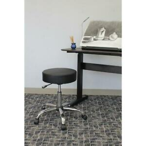 Black Caressoft Medical Stool Office Boss Spa Products Well Adjustable Cushion