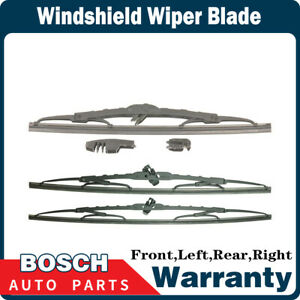 Bosch 3 Pcs Front Rear Windshield Wiper Blade For 2002 Mazda Protege5