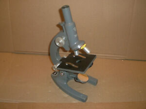 Bausch Lomb Microscope Two Objectives 10 And 43x