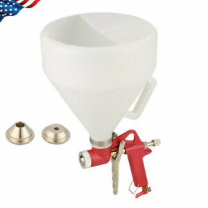 6l Air Hopper Spray Gun Joint Paint Wall Plaster Texture Drywall Painting nozzle