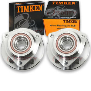 Timken Front Wheel Bearing Hub Assembly For 1989 1999 Jeep Cherokee Pair Fn