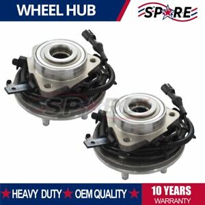 2 Front Wheel Bearing And Hub For Ford Explorer 4 0l 4 6l 2006 2007 2008 2010