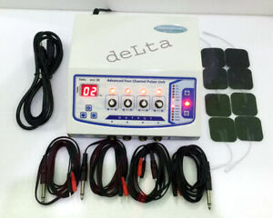 4 Channel Electrotherapy Machine Pulser Therapy Ultrasound Machine Ghf