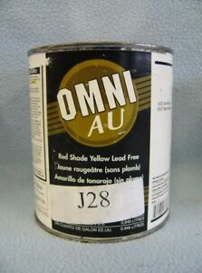 Ppg Omni Au Shop Line J28 Red Shade Yellow Lead Free Paint Tint 1 Qt