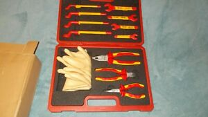 new Booher 0200406 12 piece 1000v Vde Insulated Tools Set