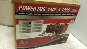 Lincoln Electric Power Mig 140c Mig Welder K2471 2 New