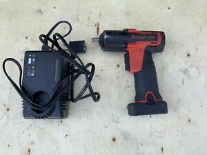 Used Snap On Tool Impact Driver Ct761a 1 Battery Charger Free Shipping