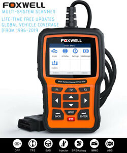 Foxwell Nt510 Fits Peugeot Abs Srs Oil Reset Code Reader Diagnostic Scan Tool