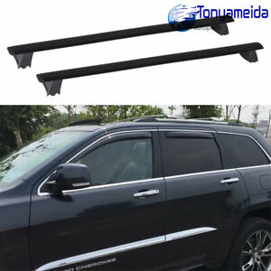Roof Rack Cross Bars Luggage Carrier Fits Jeep Grand Cherokee 11 19 W Side Rails