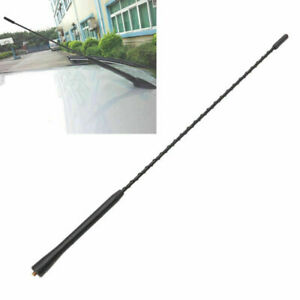 16 Universal Car Antenna Long Whip Style Radio Am Fm Antena Roof Mast W Screws