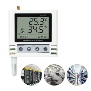 Wireless Lcd Digital Weather Station Indoor Outdoor Thermometer Humidity Sensor