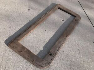 Ford Model A Door Seat Wood Frame 1931 1930 Trog Hot Rod Coupe