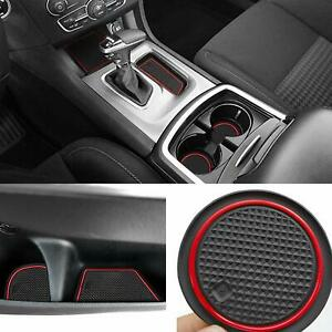For Dodge Charger 2011 2020 Liner Accessories Cup Console Door Pocket Inserts