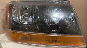 1999 2000 2001 2002 Jeep Grand Cherokee Laredo Passenger Rh Headlight