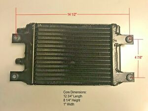 Universal Hd High Efficiency Oil Cooler 16 Rows Plate Fin