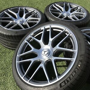 21 Inch Wheels Mercedes Amg Gt 43 53 63 S A2904010800 Rims Set Factory Tires