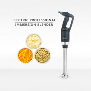 Commercial Electric Professional Immersion Handheld Variable Speed Blender Whisk