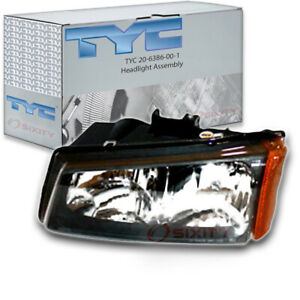 Tyc 20 6386 00 1 Headlight Assembly For General Motors 10366037 Ug