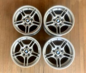 Oem Bmw Style 66 M Sport Wheels Staggered 17 E39 E36 E30 17x8 17x9 Parallel
