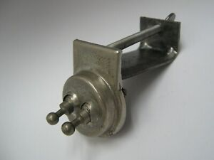 Vintage Accessory Double Toggle Switch