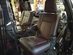2nd Row Rear Left Seat Red Leather Seat Fit 15 16 17 Ford Expedition Platinum