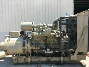 1972 Cummins Vta1710 500kw Diesel Genset 500kw All Complete And Run Tested