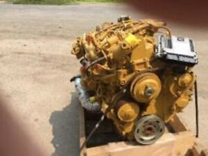 Cat 3 4 Diesel Engine All Complete And Run Tested