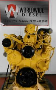 1991 Cat 3406b Diesel Engine 425hp Approx 448k Miles All Complete