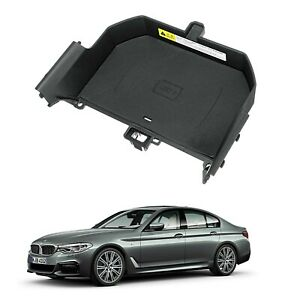 10w Qi Phone Wireless Fast Charger Station Panel Pad For Bmw 5 Serie G30 G32 G38