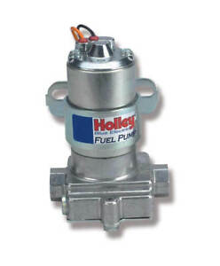 Holley 110 Gph Blue Electric Pump Without Regulator For Street strip Application