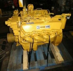 1981 Cat 3208n Diesel Engine 210hp All Complete And Run Tested