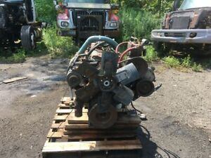 International Dt466b Diesel Engine 210hp All Complete And Run Tested