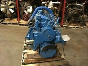 International Dt 466b Diesel Engine All Complete And Run Tested
