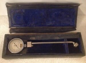 Vintage Dill Certified Master Gauge Tire Air Pressure 0 130 Psi Cleveland Oh