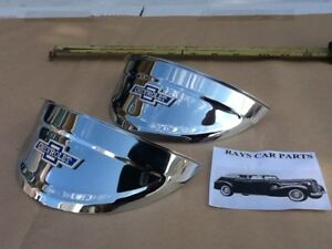 New 40 41 47 48 49 50 51 52 53 54 Chevy 7 Inch Vintage Style Head Light Visors