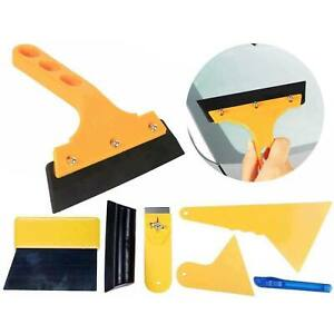 7pcs Car Window Film Tint Vinyl Wrap Tool Scraper Squeegee Installation Set Kit