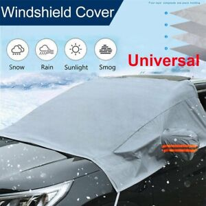Car Windshield Snow Sun Cover Shade Protector Winter Dust Frost Guard Waterproof