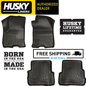 Husky Liners Weatherbeater Floor Mats Fits 2008 2011 Ford Focus