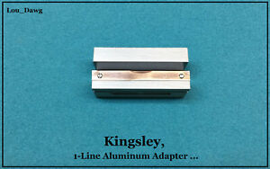 Kingsley Machine 1 line Aluminum Adapter Hot Foil Stamping Machine
