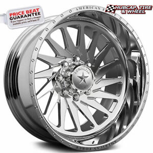 American Force Morph Ckh01 Concave Polished 26 x16 Truck Wheel 8 Lug set Of 4
